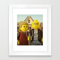 American Gothic Framed Art Print