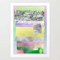 Plastered on the Wall Art Print
