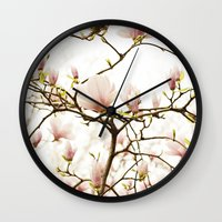 Queen For A Day Pink Mag… Wall Clock