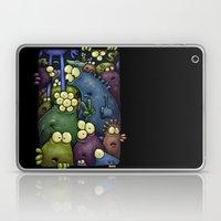 Crowded Aliens Laptop & iPad Skin