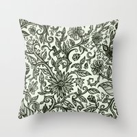 Garden Of Relief And Aff… Throw Pillow