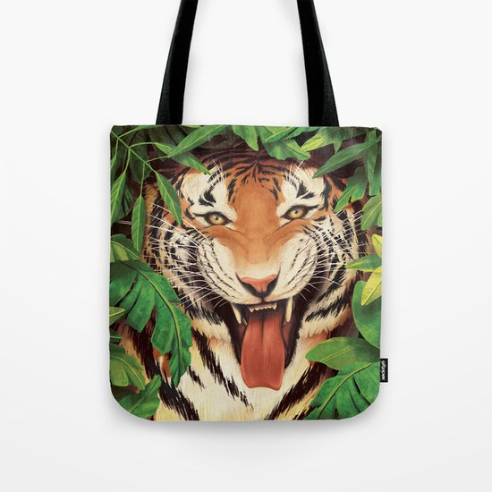 Guardian of the Jungle Tote Bag