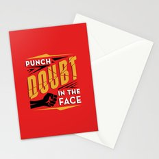 Punch Doubt in the Face! Stationery Cards