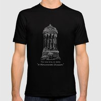 Monument Mens Fitted Tee Black SMALL