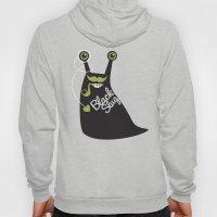 Black Slug Hoody