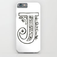 iPhone & iPod Case featuring j is for by Katie L Allen