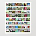 collection of moments Canvas Print