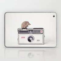The Hedgehog And The Ins… Laptop & iPad Skin