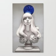 Canvas Print featuring Suddenly The Koons Is Me by Helen Green