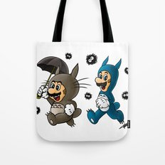 Super Totoro Bros. Tote Bag