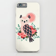 Owl and Blossoms iPhone 6 Slim Case