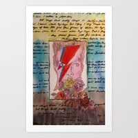 He Was Always There -- B… Art Print