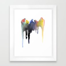 Formations Framed Art Print