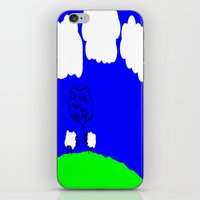 Watching The Clouds Go B… iPhone & iPod Skin