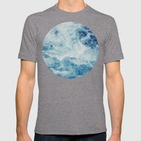 Sea Splash Mens Fitted Tee Tri-Grey SMALL