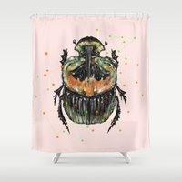 INSECT X Shower Curtain