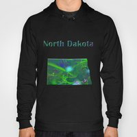 North Dakota Map Hoody