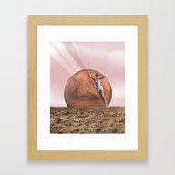 Etre Framed Art Print