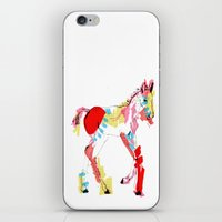 Baby horse colour iPhone & iPod Skin