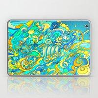 Cosmic Waterfall Laptop & iPad Skin