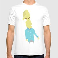Doctor Awkward Mens Fitted Tee White SMALL