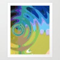 Round and Round (2) Art Print