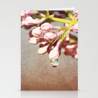 Beautiful Prink Spring Lilacs Stationery Cards