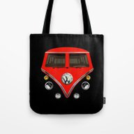 Sale For Charity! Red VW… Tote Bag