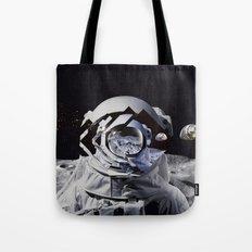 Spaceman (blue) Tote Bag