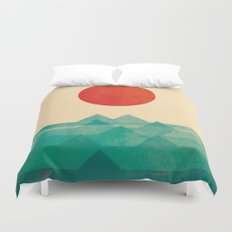 The Ocean, The Sea, The … Duvet Cover