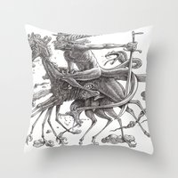 Great Duke Bathin Throw Pillow