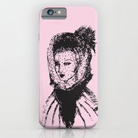 Veiled Lady on Pink iPhone 6 Slim Case