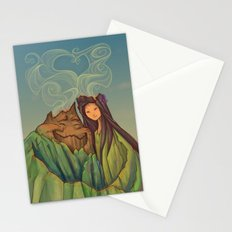 Volcano Love Stationery Cards