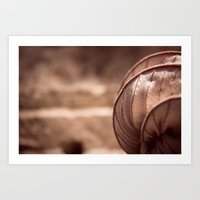 Dried Up And Curled Papa… Art Print