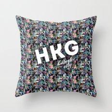 Hong Kong (Libertee City) Throw Pillow