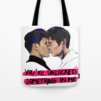 You've unlocked something on me. Tote Bag