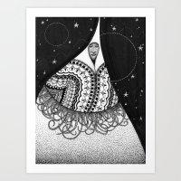 Widower's Walk Art Print