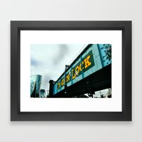 London Camden Town Rail … Framed Art Print