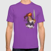 Pirate Mens Fitted Tee Ultraviolet SMALL