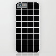 Black Grid  iPhone 6 Slim Case