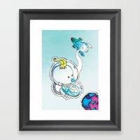 In Space Framed Art Print