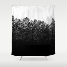Nocturne No. 4  Shower Curtain