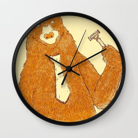 Office Bear Wall Clock