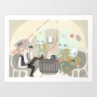 Bunno Shot First Second … Art Print