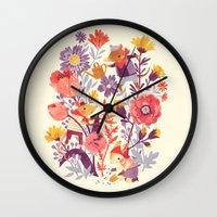 The Garden Crew Wall Clock