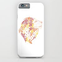 iPhone & iPod Case featuring Lion by Adam Ladd