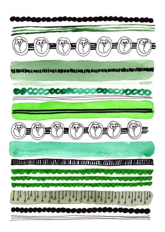 Pattern / Nr. 4 Art Print
