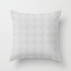 Little Birdies Pattern Throw Pillow