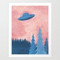 Unidentified Flying Obje… Art Print