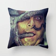 Headache Throw Pillow
